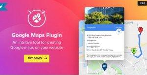WP Google Maps – Map Plugin for WordPress