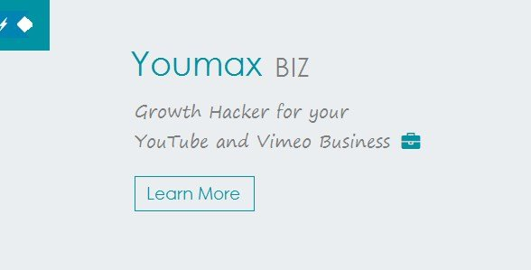 Youmax – Grow your YouTube and Vimeo Business