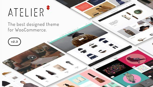 Atelier Creative Multi-Purpose eCommerce Theme