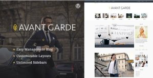 AvantGarde – WordPress Blog Theme