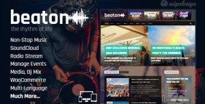 Beaton – Music Radio & Events WordPress