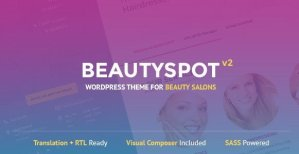 BeautySpot – WordPress Theme for Beauty Salons