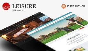 Hotel WordPress Theme – Hotel Leisure