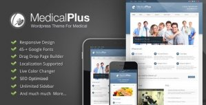 Medical Plus - Responsive Medical and Health Theme