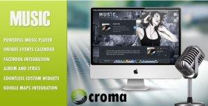 Music - Musicians theme & Facebook app
