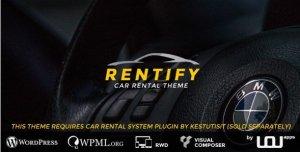 Rentify - Car Rental WordPress Theme
