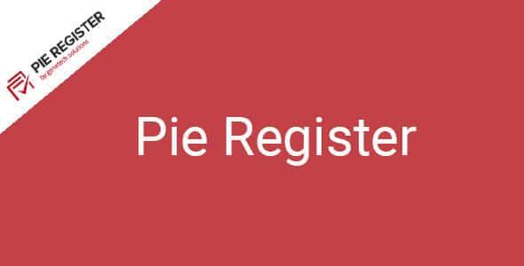 Pie Register Premium WordPress Registration Plugin