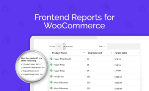 AGS: Frontend Reports For WooCommerce Add-On Plugin