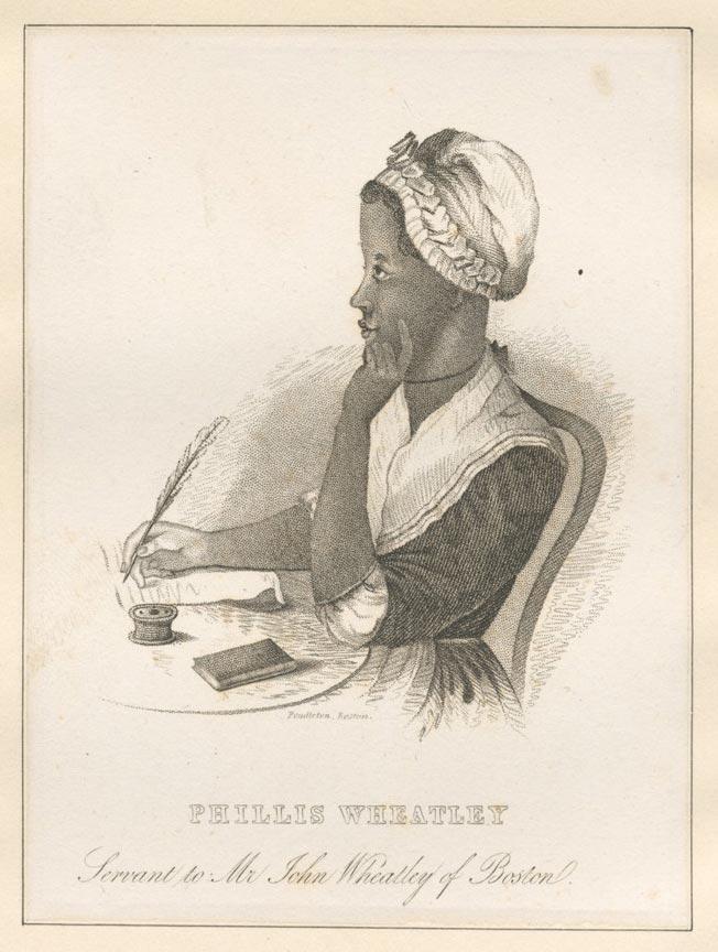 Phillis Wheatley New York Public Library S Public Domain Image
