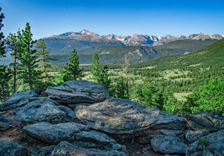 5. Camp at Rocky Mountain National Park