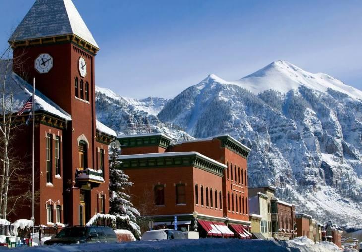6. Plan for a Weekend Winter Getaway at Telluride