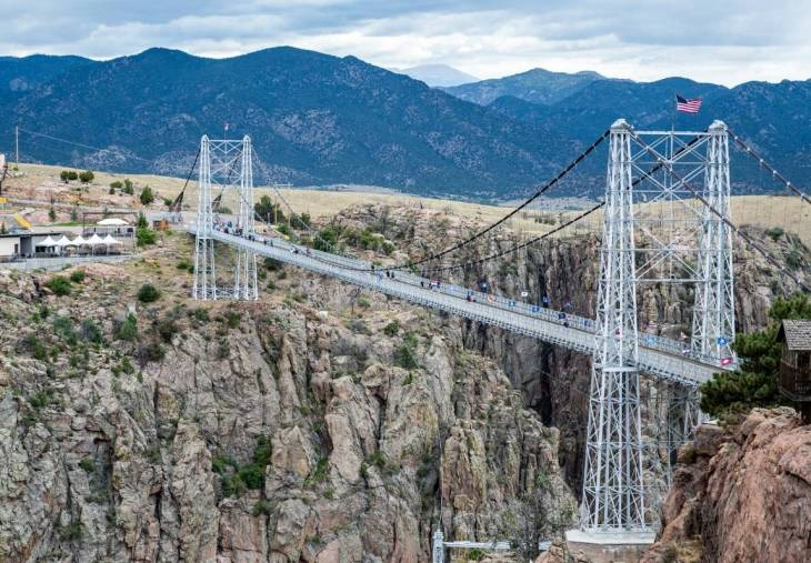 10. Test Your Tolerance for Heights at the Royal Gorge Bridge