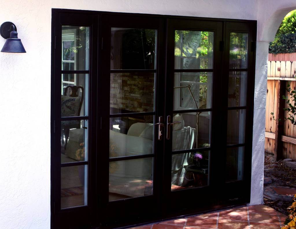 exterior french patio doors in san