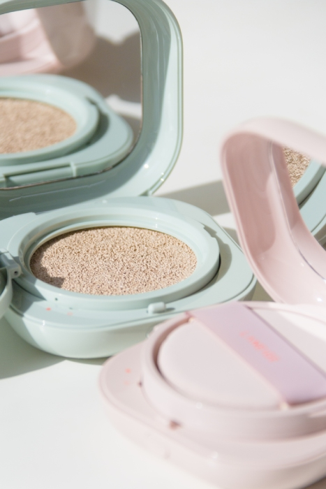 laneige neo cushion matte and glow open