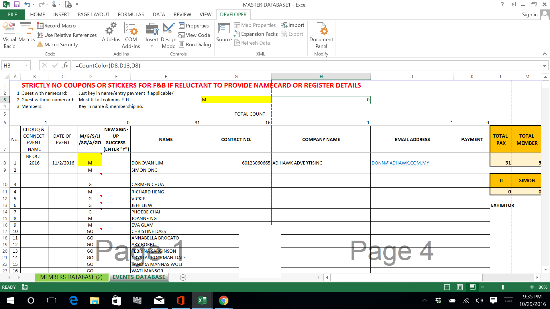 How To Count Colored Cells In Excel Step By Step Guide