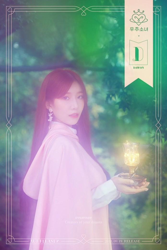 Cô gái vũ trụ Dawon 2018