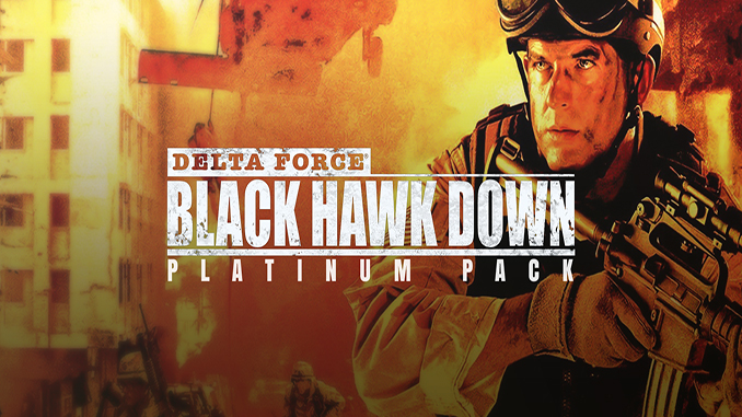 Delta Force: Black Hawk Down Platinum Pack