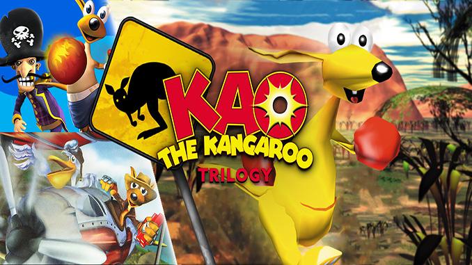 Kao the Kangaroo Trilogy