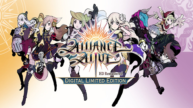 The Alliance Alive HD Remastered - Digital Limited Edition