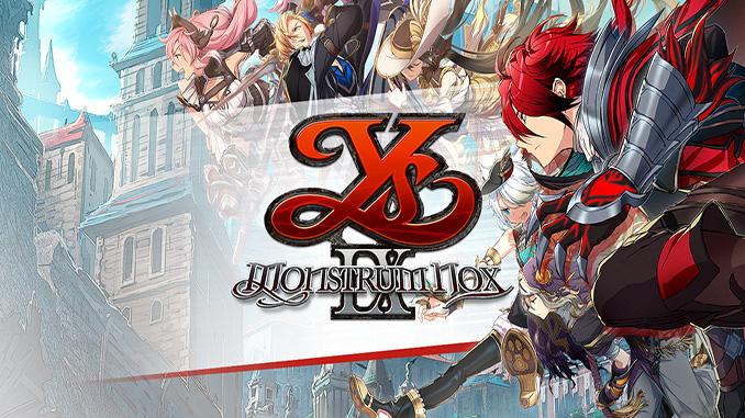 Ys IX: Monstrum Nox