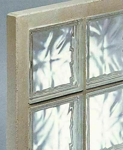 Briques De Verre 198 Nuagees Transparentes En Panneau Prefabrique N 36 Ep 8cm Haut 67cm Larg 127cm Gedimat Fr