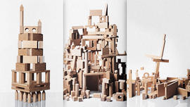 The Weird Ways Designers Play With Building Blocks