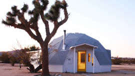 An Artist Couple's Dome House in the Mojave Desert