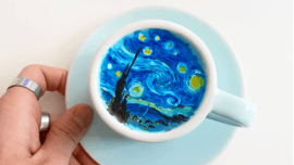 A Korean Latte Artist Is Pushing the Limits of Coffee Creativity