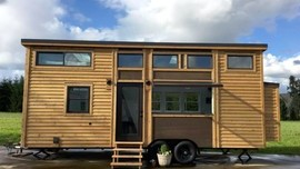 Super-Compact Dwelling Controlled By Smartphone