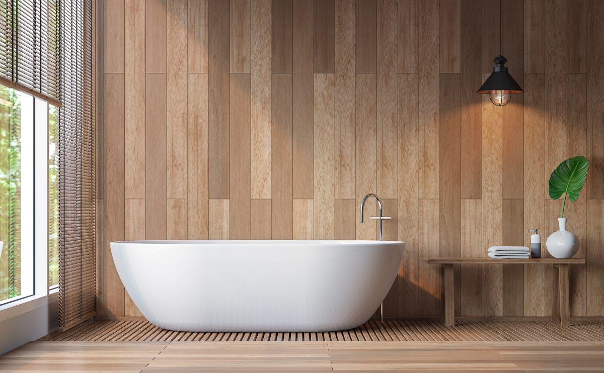 bathroom tile ideas mix match tiles