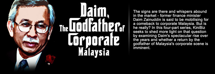 Image result for Daim Zainuddin and Mahathir