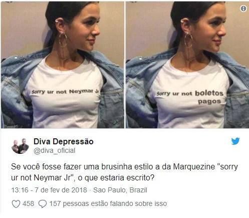 Screenshot 421 - Bruna Marquezine estampa camisa com declaração a Neymar e gera memes na web