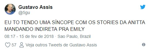 Screenshot 59 - VEJA VÍDEO: Anitta debocha na web e fãs apontam indireta para Emilly e Mayla