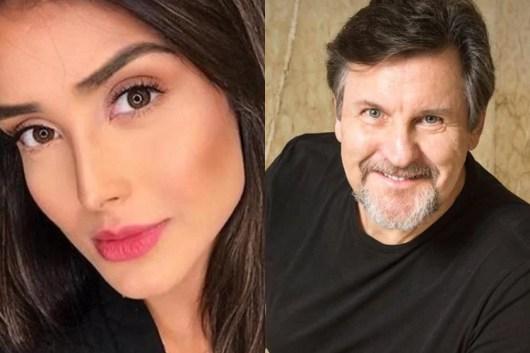 Letícia Almeida e Antonio Calloni tiveram um caso, segundo Leo Dias (Reprodução)
