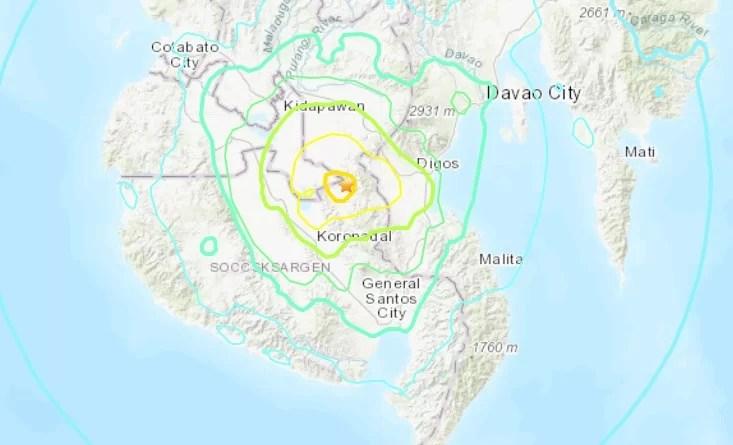 Resultado de imagem para terremoto filipinas