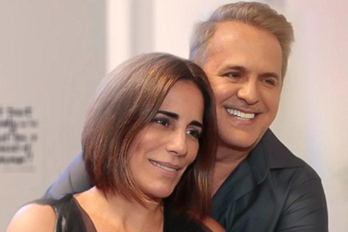 Orlando Morais and Glória Pires