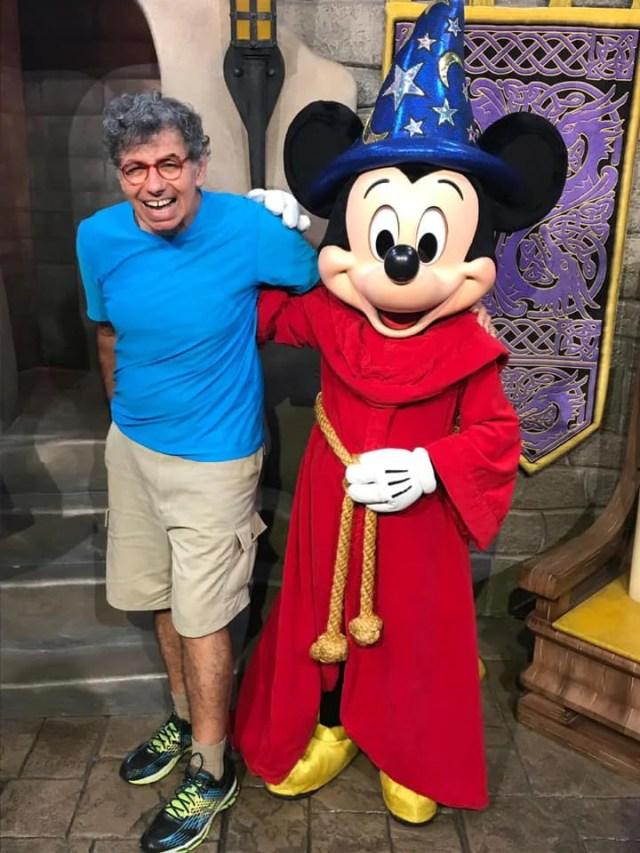 Daniel Azulay e o Mickey