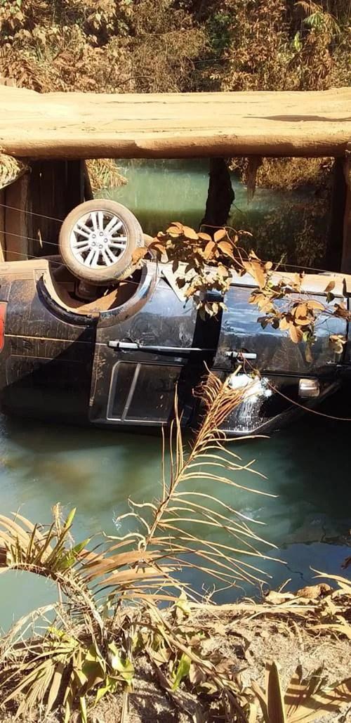 Carro de Leonardo (Foto: Leo Dias / Metrópoles)