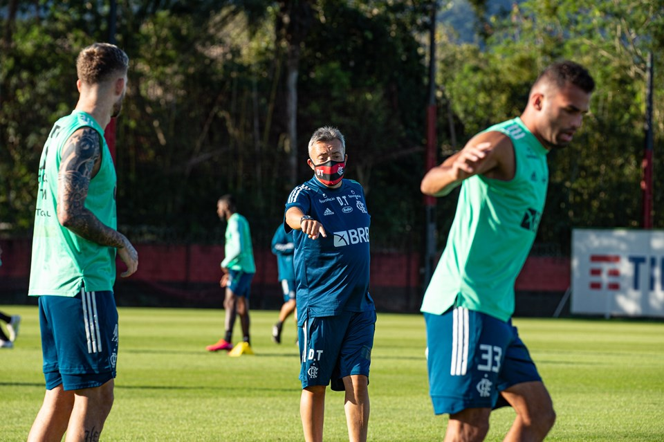 Domènec Flamengo treino