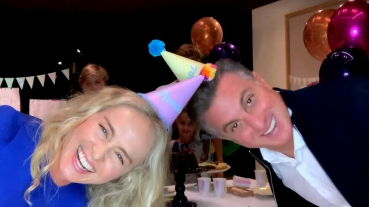Angelica and Luciano Huck birthday