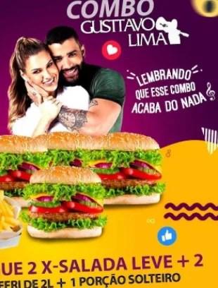Restaurantes serão processados por Gusttavo Lima 2