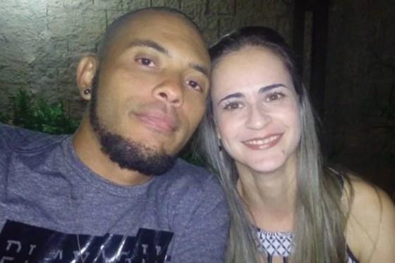 Josimar e Giane, vítima de feminicídio