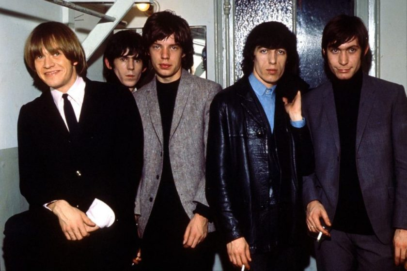 Rolling Stones - Brian Jones, Keith Richards, Mick Jagger, Bill Wyman and Charlie Watts