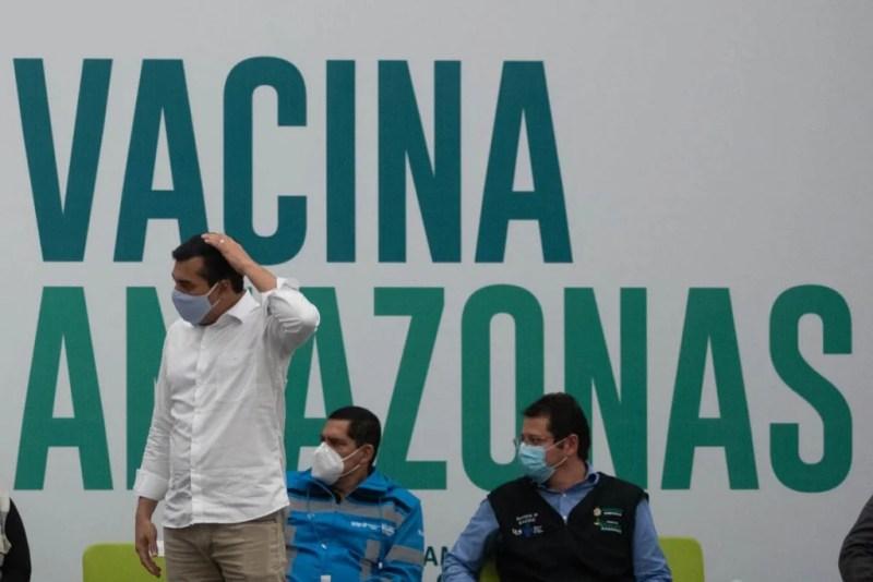 Enfermeira indígena, Vanda Ortega é a primeira pessoa a ser vacinada no AM