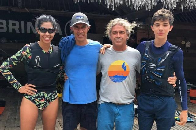 Bela Gil, Pedro Paulo Diniz e Mosquito
