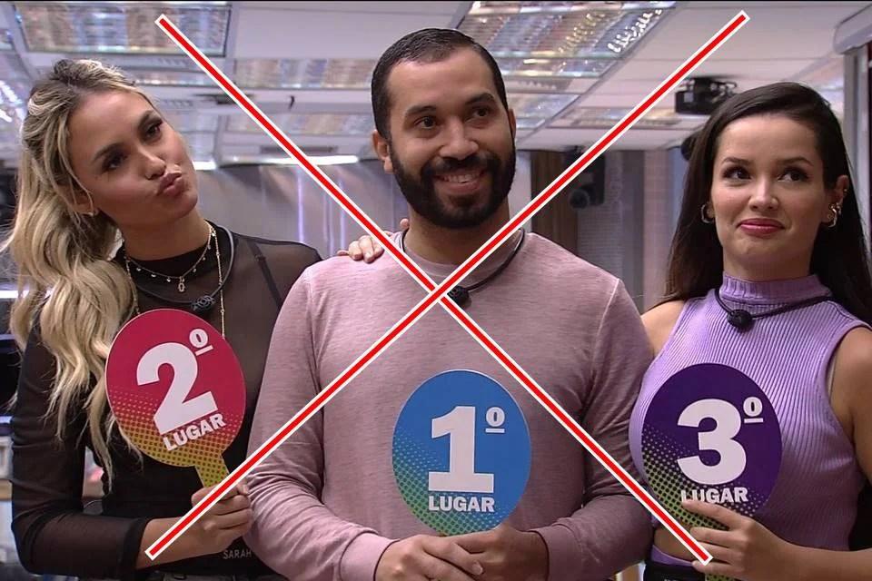 O fim do G3! Entenda a separação de Juliette, Gil e Sarah no BBB21