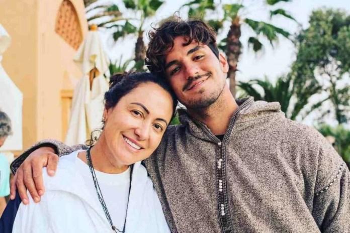 Simone, mãe de Gabriel Medina