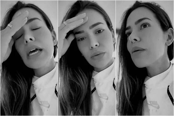 Morando nos EUA, Adriana Sant'Anna reclama por não ter faxineira