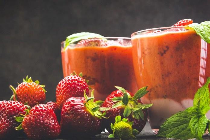 Suco de morango