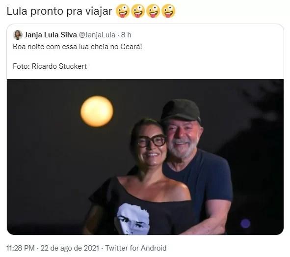 Lula's photo meme